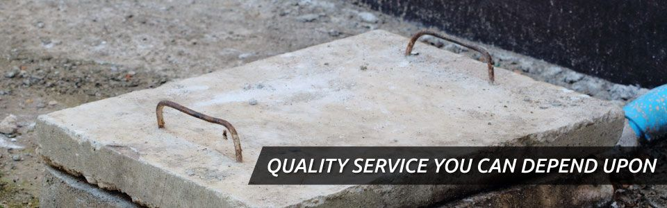 QUALITY SERVICE YOU CAN DEPEND UPON | septic cover